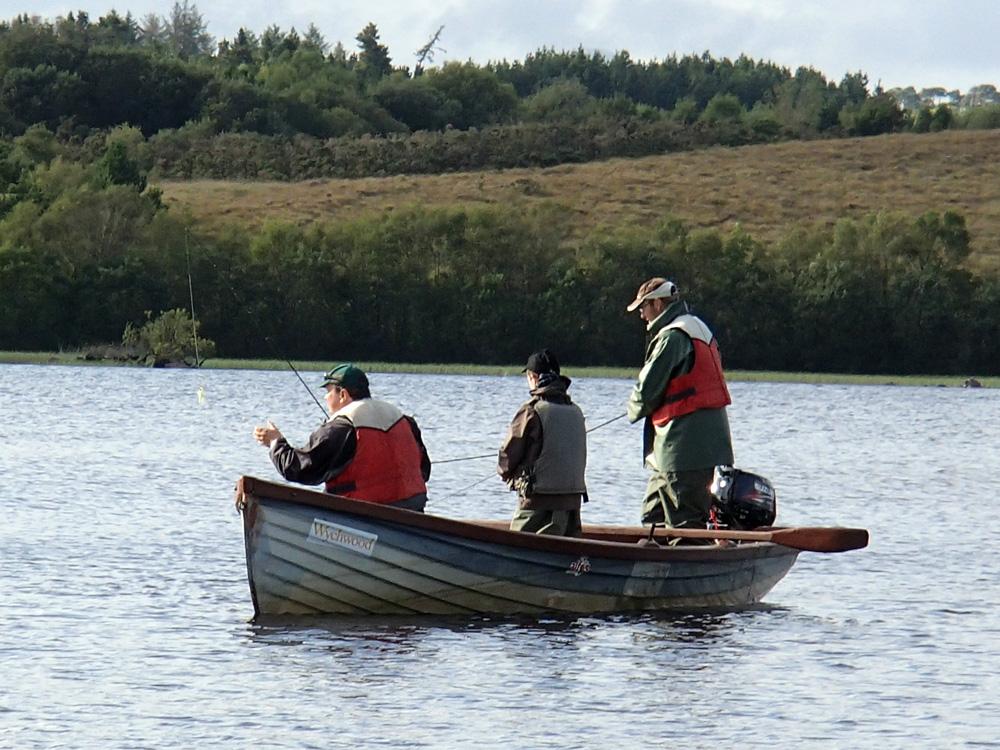 Les barques irlandaises...