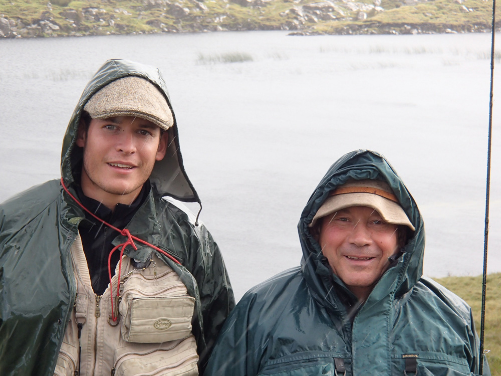 Mathieu et Joël, bienheureux sous la pluie