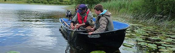 Pêche en famille en Irlande…
