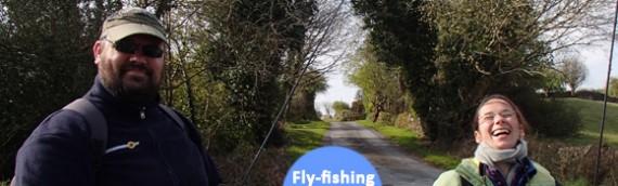Pêche à la mouche pour Didier et Gaëlle