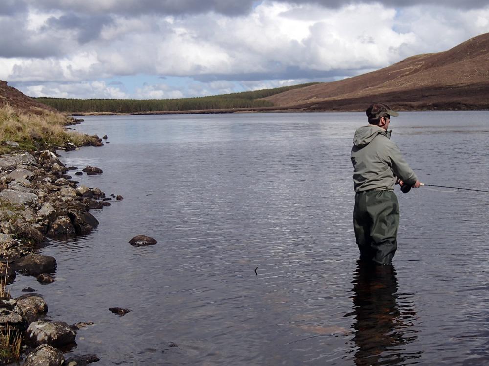 Pêcher les pieds dans l'eau en lac,c'est tip-top!