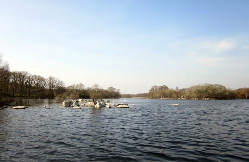 Le lac Mask en Irlande