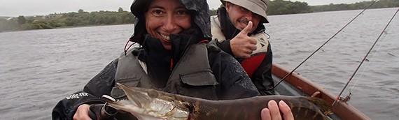 Laurent et Marie-Line à la pêche…