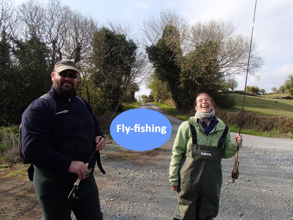 Pêche à la mouche en couple en Irlande