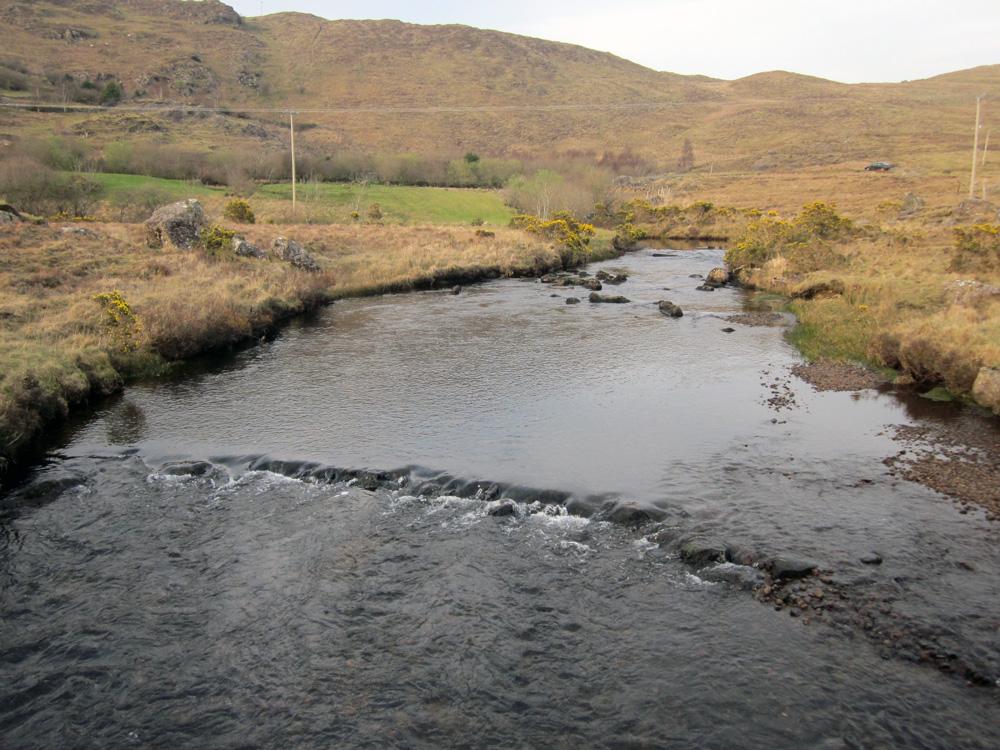 Rivière dans le Connemara.