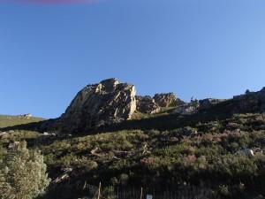 La roche partout présente
