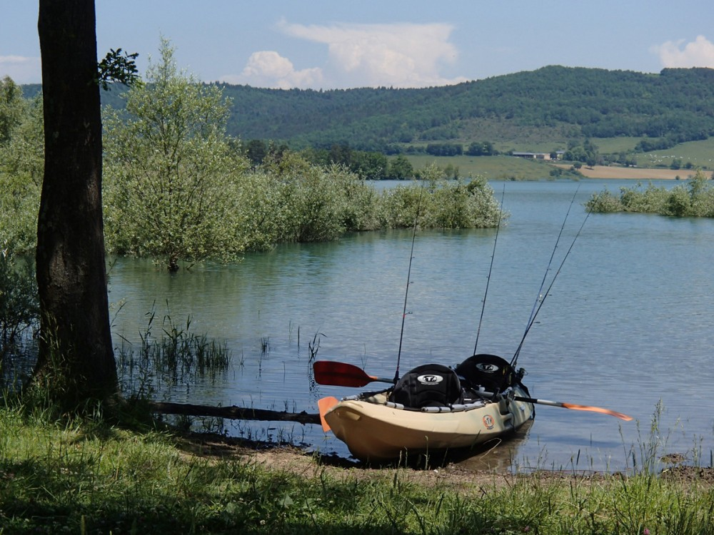 Kayak pêche rotomod bi-place